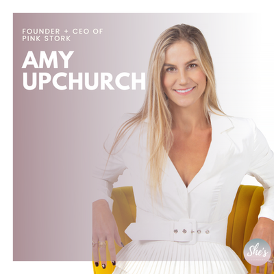 Amy Upchurch | Founder + CEO of Pink Stork