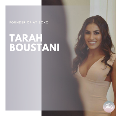 Tarah Boustani | Founder of At Boxx