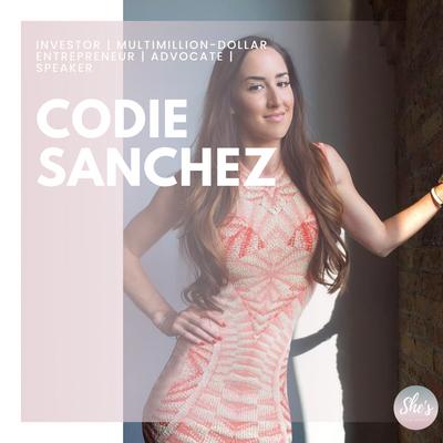 Codie Sanchez   Investor   Multimillion-dollar entrepreneur   Advocate   Speaker