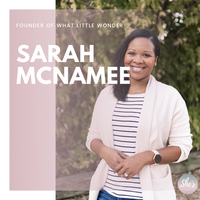 Sarah McNamee | Founder of What Little Wonder
