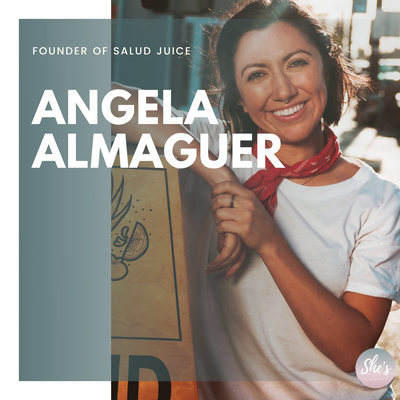 Angela Almaguer   Founder of Salud Juice