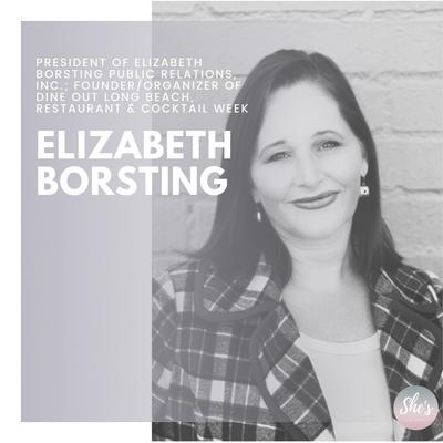 Elizabeth Borsting | Founder/Organizer of Dine Out Long Beach, Restaurant & Cocktail Week