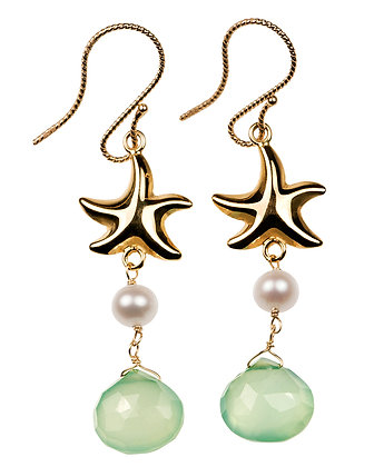 Seashells & Water: Starfish Earrings