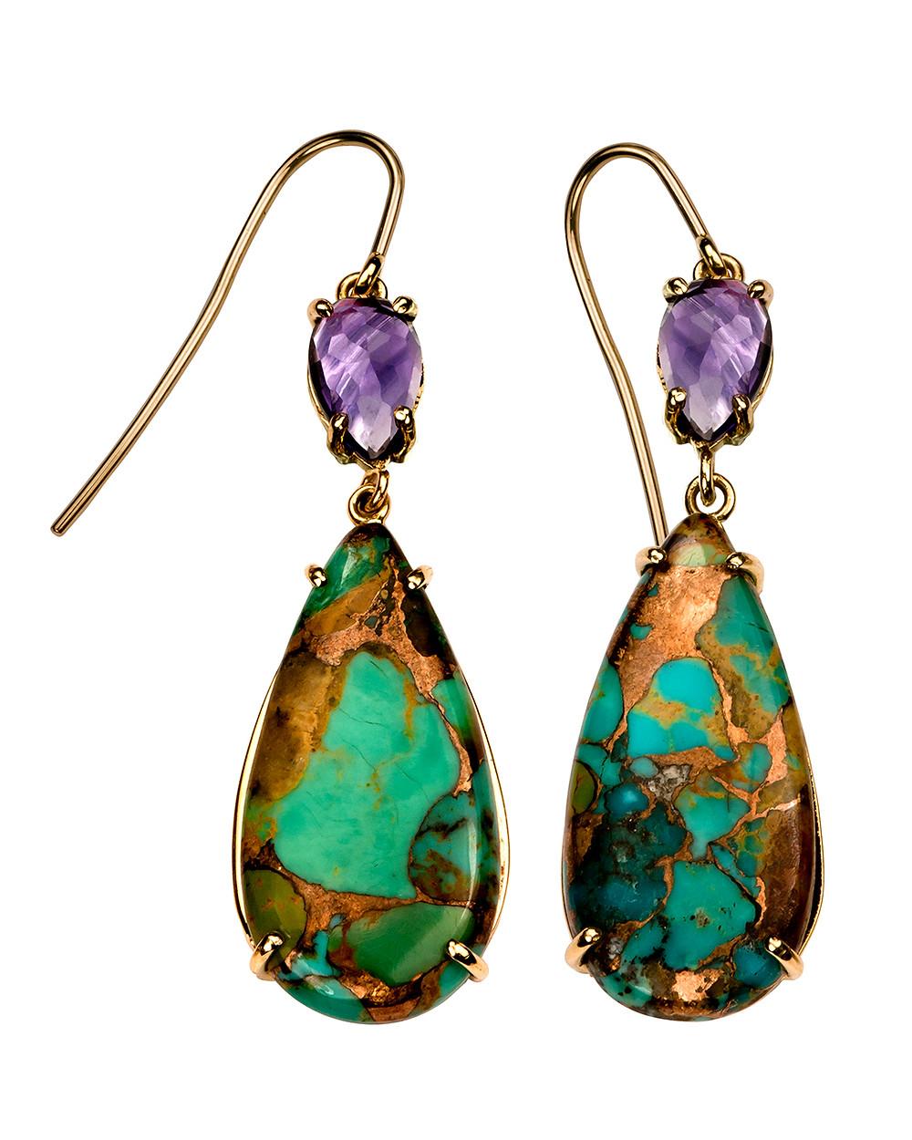 Amethyst & Turquoise Earrings.jpg