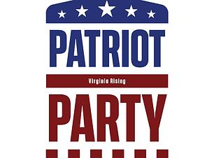Virginia Rising. Patriot Party Graphic S