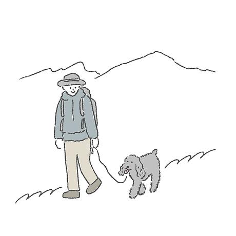 犬連れトレッキング  犬連れキャンプ