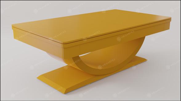Toronto em Laca cor Amarelo Camaro Acetinado com Tampo Jantar