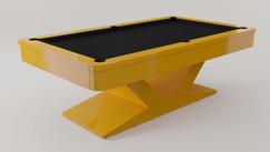 Verona em Laca cor Amarelo Camaro Acetinado
