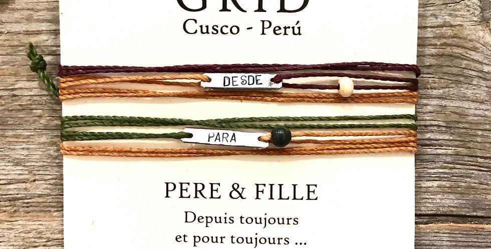 KAY - PÈRE & FILLE Argent