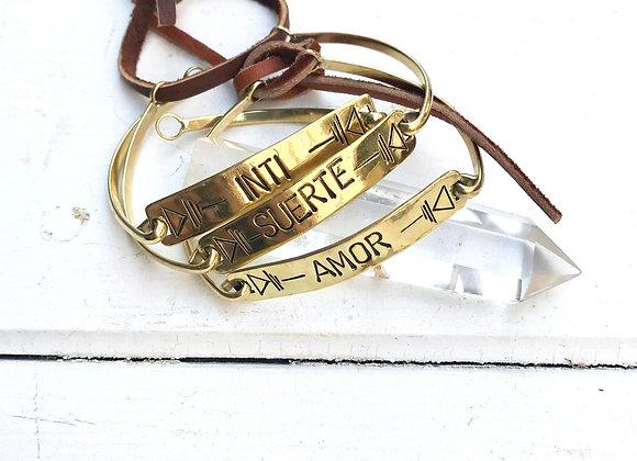 Bracelet KALU - Bronze