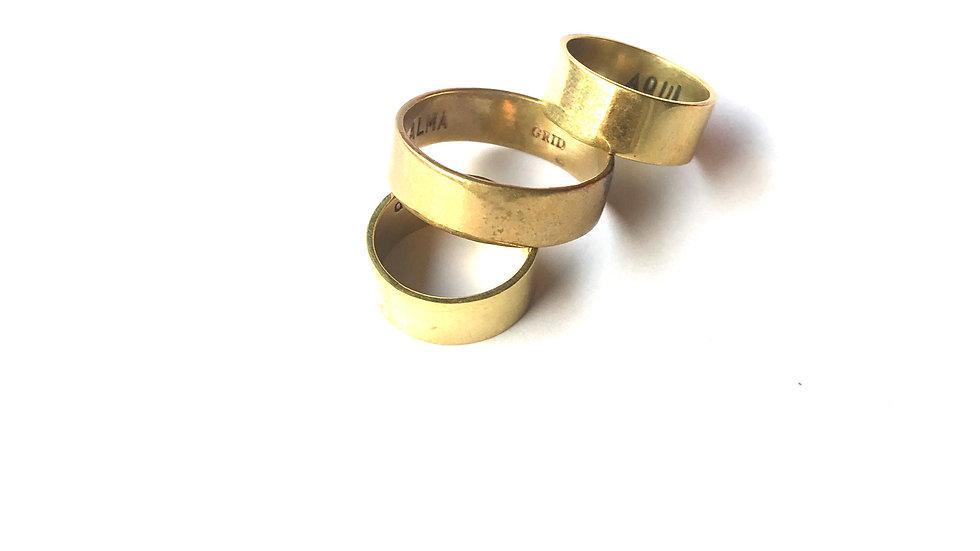 BAGUE TCHUN - Mixte - Bronze