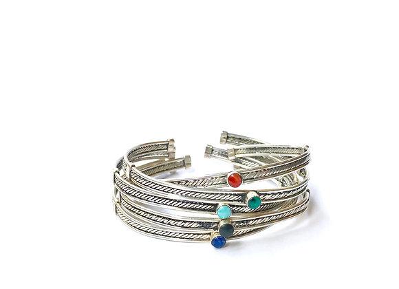 Bracelet ÑAUPA - Argent