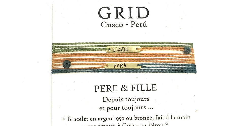 KAY - PERE & FILLE Bronze