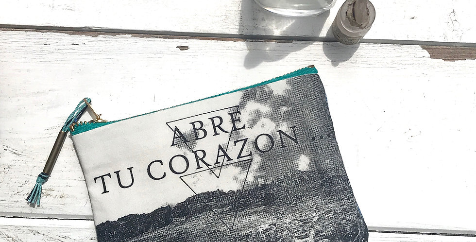 Pochette 'ABRE TU CORAZON'