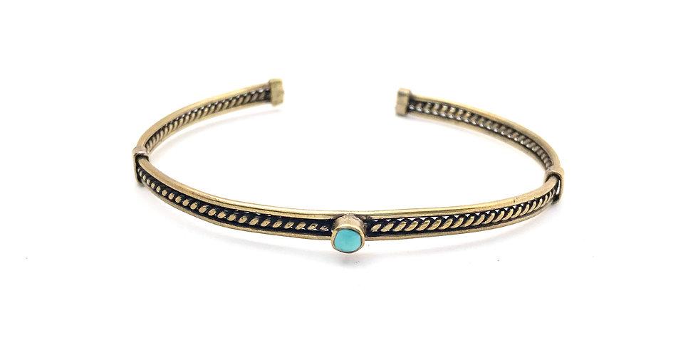 ÑAUPA - Turquoise - Bronze