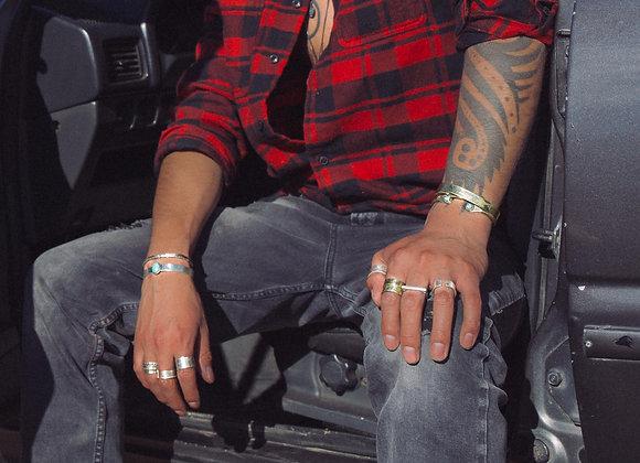 Bracelet HALO - HOMME - Argent
