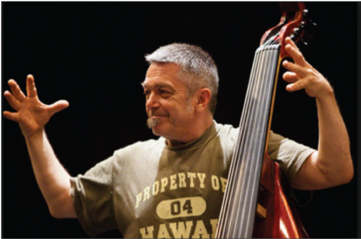 Paul Roger.Double Bass Player and Improviser.Composer