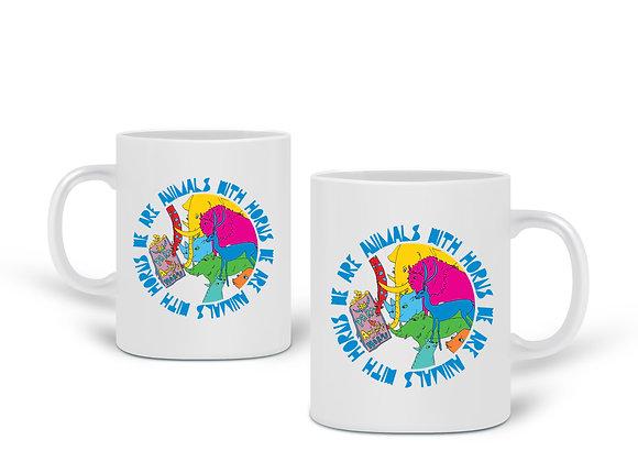Animals with Horns Mug
