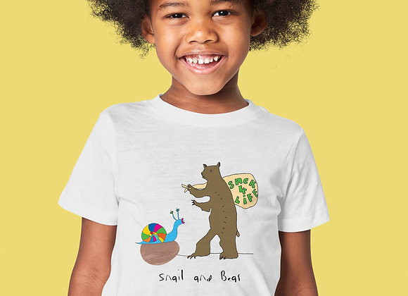 T-SHIRT SNAIL AND BEAR