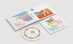 WE LOVE TEDDY BEAR CD AND BOOKLET