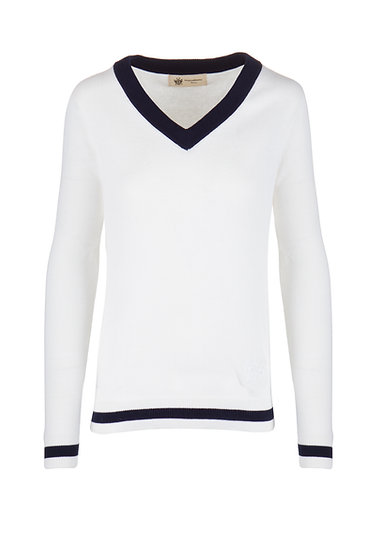 NS Women's Ivory Knitted Pullover