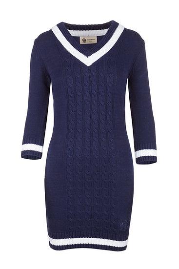 NS Women's Navy Knitted Dress