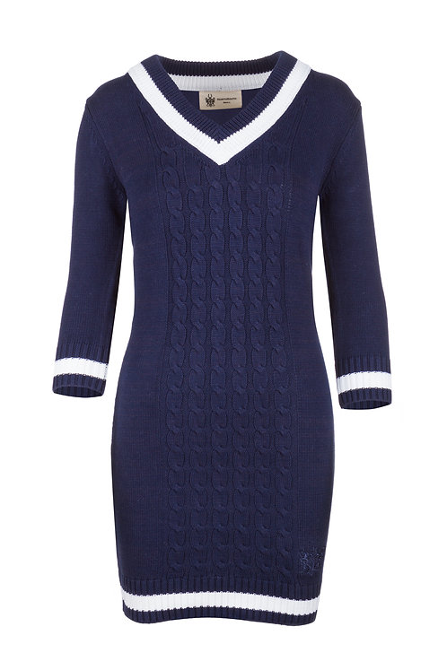 NS Women's Navy Knitted Dress