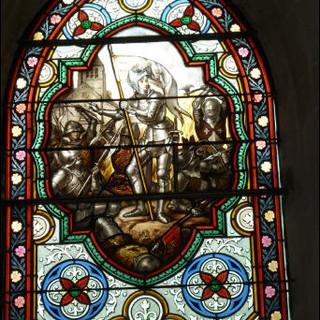 Vitrail Sainte Jeanne d'Arc