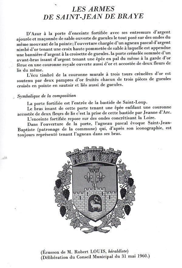 St-Jean-Baptiste Ecusson Robert Louis 19