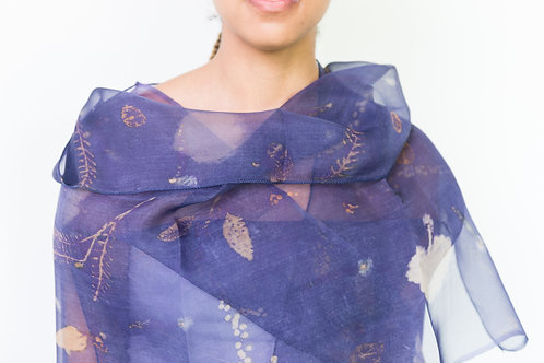 Silk Organza Shawl