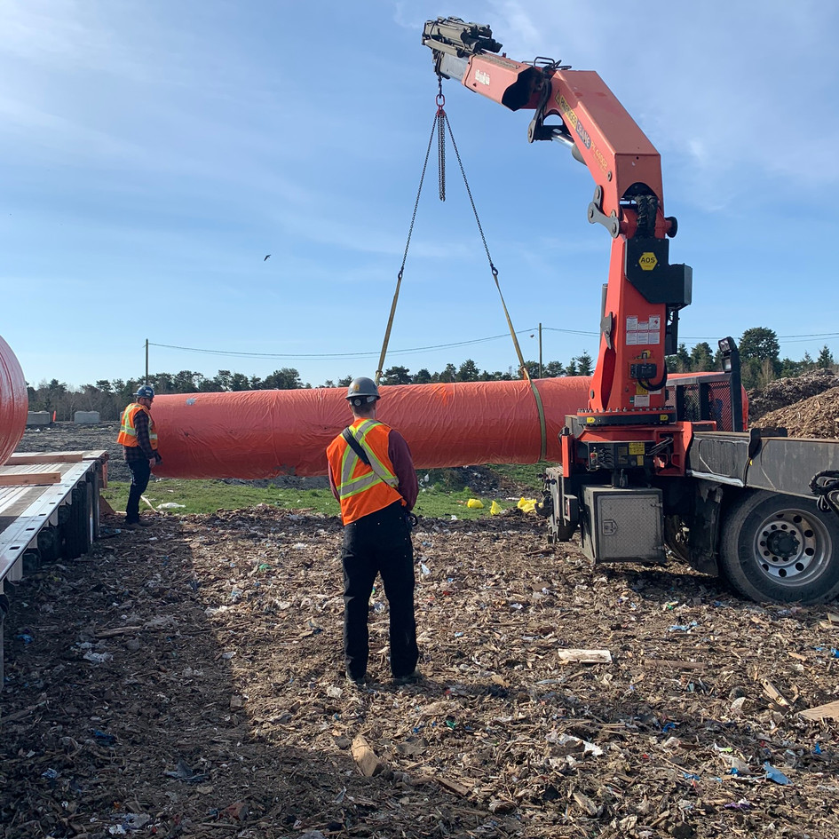 Large Asbestos Piping Removal