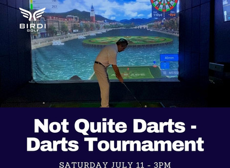 "Announcing the ""Not Quite Darts-Darts Tournament"""