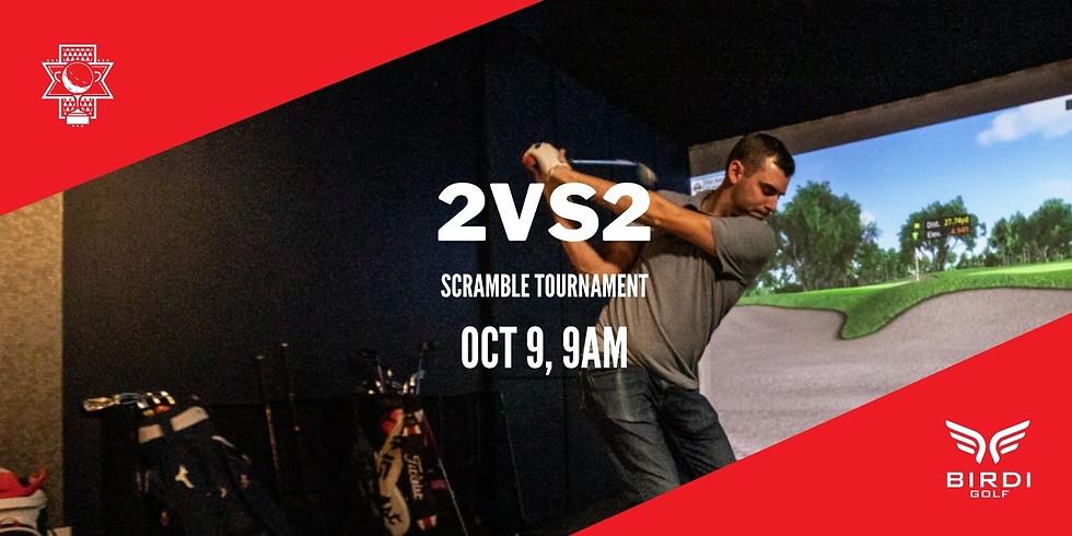 2-Man Scramble Tournament