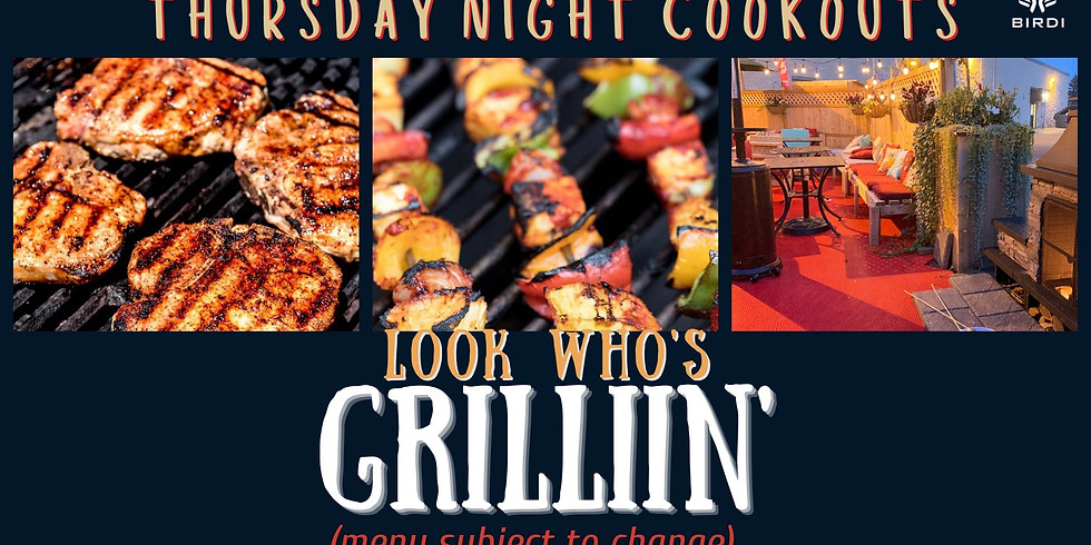 Thursday Night Cookout
