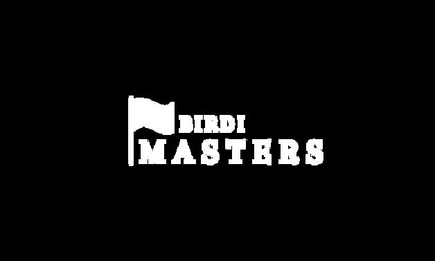 BIRDI Masters White Logo