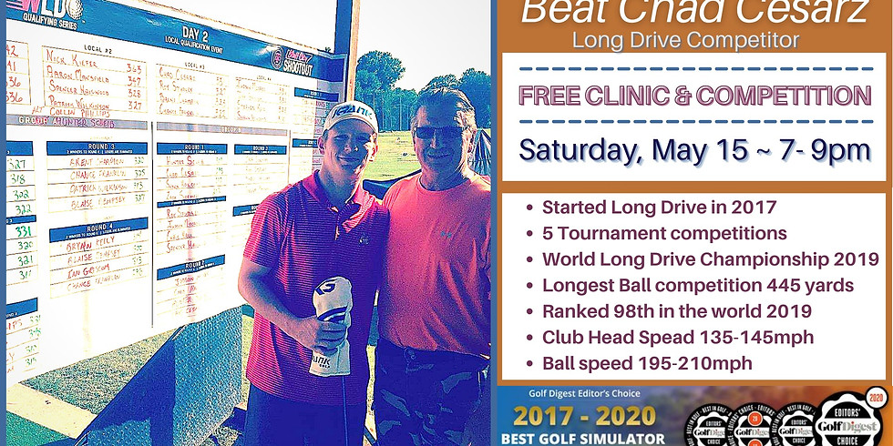 Free Long Drive Challenge & Clinic