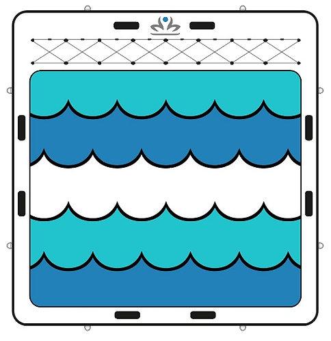 "Tapis de piscine LEMBONGAN - 6'6""x6'0""x6"""