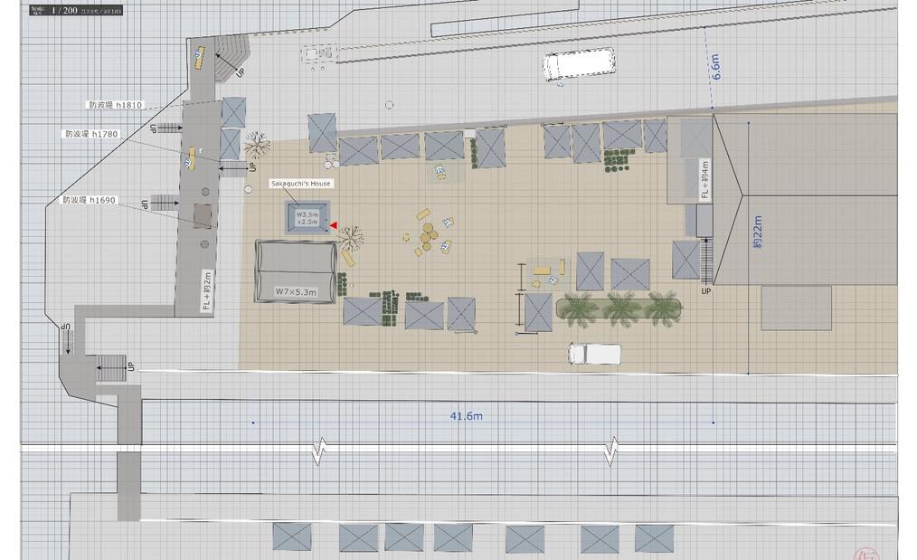 Overhead Plan [Homeless Town]
