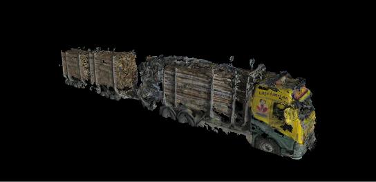 3D model of a truck