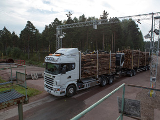 Cind's system for timber measurement on trucks is delivered and approved