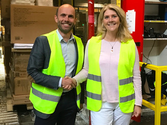 Cind is revolutionizing the logistics industry together with JYSK