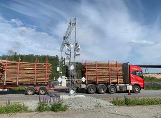 First installation in Finland