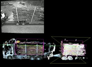 Cinds anläggning för fjärrmätning av timmer på lastbil är levererad och typgodkänd