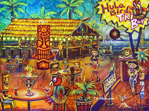 Hula Bird's Tiki Bar