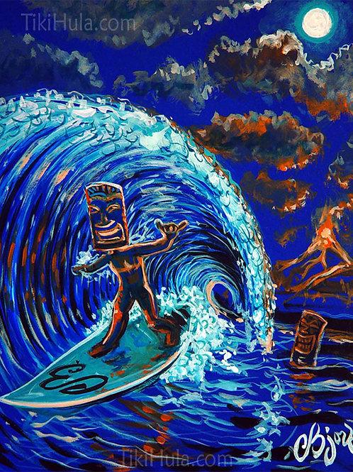 Surfing Tiki