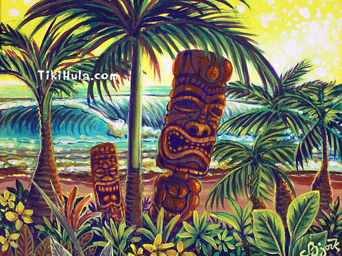 Sunset Beach Tiki