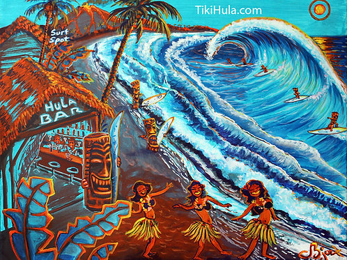 Hula Bar Surf Spot