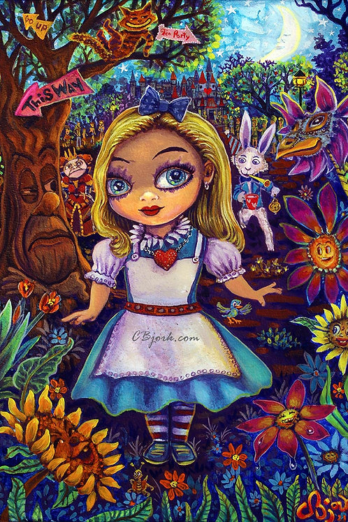 Alice After Tea Party