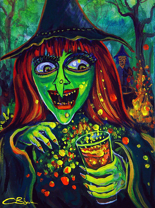 Green Witch Potion