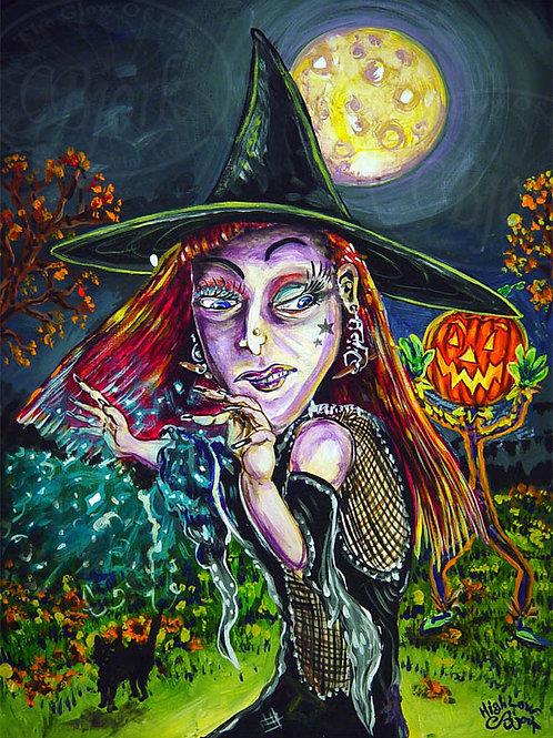 Witch PumpkinHead